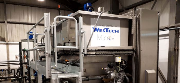 WWT Wastewater - Scottish Water tests innovative wastewater treatment process